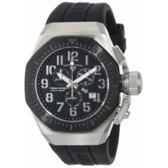 【当店1年保証】スイスレジェンドSwiss Legend Men's 10540-01-BB Trimix Diver Chronograph Black