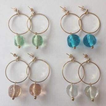 Glass earrings ガラスピアス/イヤリング