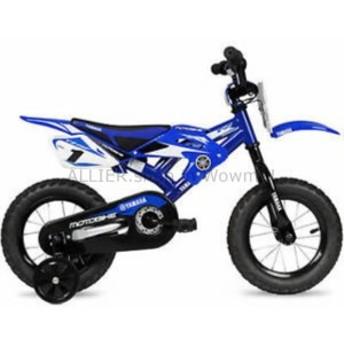 "BMX 男の子キッズバイクヤマハモトチャイルズBMX 12 ""ブルー2-4ホイール子供自転車スチール  Boys Kids Bik"