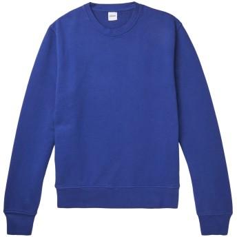 《期間限定セール開催中!》ASPESI メンズ スウェットシャツ ブルー L コットン 100%