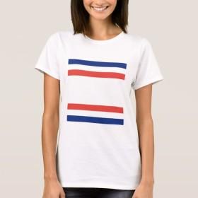 トリコロール ボーダー Tシャツ