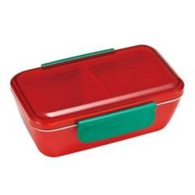 お弁当箱 スタイリッシュランチボックス マルシェ 1段 530ml トマト