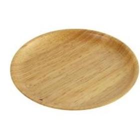 プレート 15cm ラウンド 木製食器 ラバーウッド warms 【5%OFFクーポン利用可能】【コード:CP34TSW】