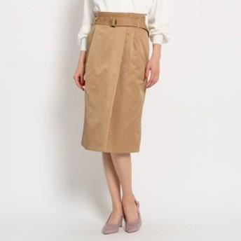 エージー バイ アクアガール(AG by aquagirl)/【Lサイズあり】ベルテッドラップ風スカート
