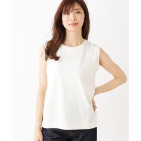 OPAQUE.CLIP(オペークドットクリップ) シンプル ノースリーブTEEシャツ
