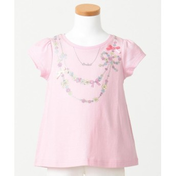 anyFAM KIDS ネックレスモチーフ 吸水速乾 Tシャツ