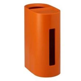 ティッシュケース ダストBOX付き オレンジ