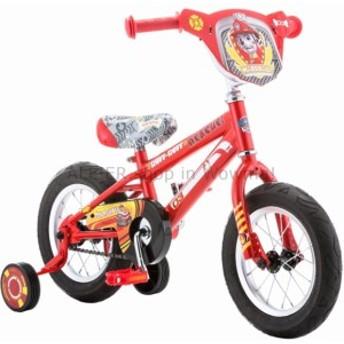 "BMX 12 ""足パトロールマーシャルボーイズのトレーニングホイールBMXバイクキッズ自転車三輪車  12"" Paw Patrol"