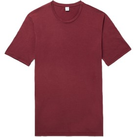 《期間限定セール開催中!》ASPESI メンズ T シャツ ボルドー M コットン 100%