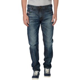 《期間限定 セール開催中》DIESEL メンズ ジーンズ ブルー 28W-32L 指定外繊維(紙) 100%