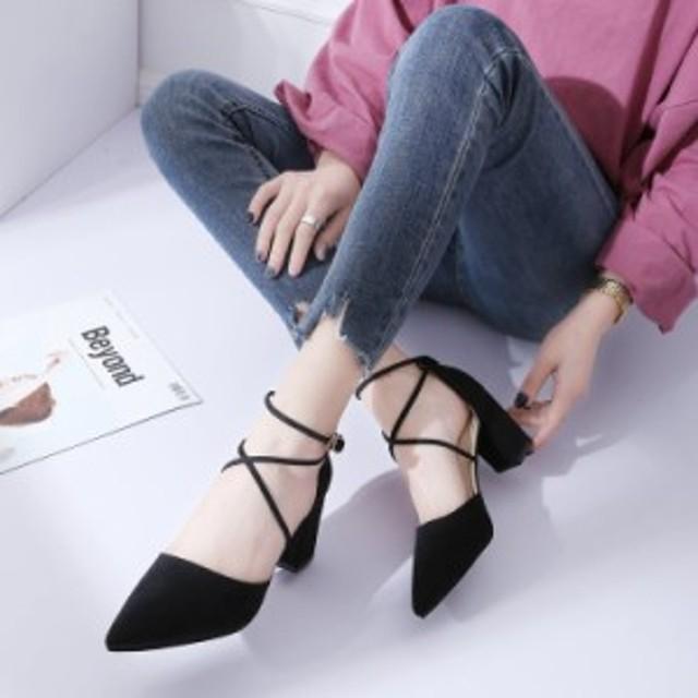 2019リニューアレディース ミュール ハイヒール夏 靴パンプス  ポインテッドトゥ ハイヒール カラフルビジューデザイン サンダル ローヒ