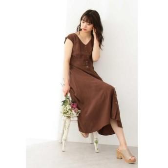 PROPORTION BODY DRESSING / プロポーションボディドレッシング  ボタンフロントドレス