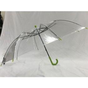 ANA wonderFLY エコ提案受賞 ビニールショートワイド傘 グリーン