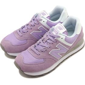 【SALE】ニューバランス newbalance WL574 ESD レディース スニーカー 靴 VIOLET GLO ピンク系 [WL574ESD SS19]
