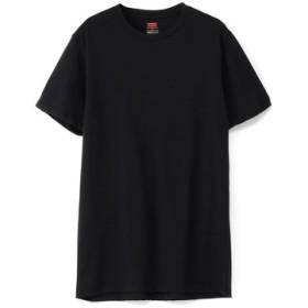 Levi's COOLMAXメッシュ クルーTシャツ メンズ ブラック