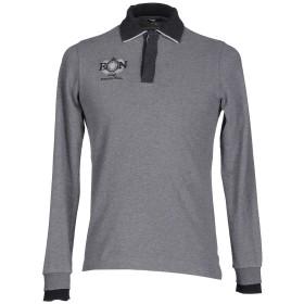 《期間限定 セール開催中》ETIQUETA NEGRA メンズ ポロシャツ グレー S コットン 100%