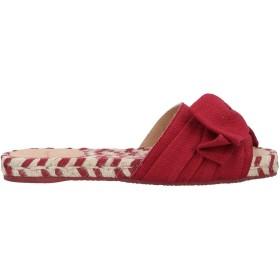 《期間限定セール開催中!》CASTAER レディース サンダル ボルドー 37 紡績繊維