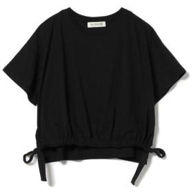 【ビームス ウィメン/BEAMS WOMEN】 Ray BEAMS / ドロスト ギャザー スリット Tシャツ