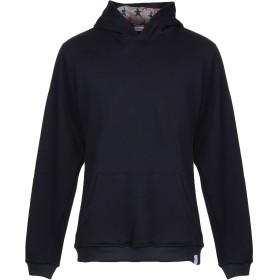 《期間限定 セール開催中》ORIGAMI LAB メンズ スウェットシャツ ダークブルー XL コットン 100%