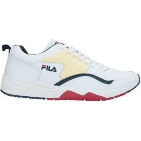 《期間限定セール開催中!》FILA メンズ スニーカー&テニスシューズ(ローカット) ホワイト 10 革 / 指定外繊維 / 紡績繊維