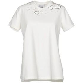 《セール開催中》MY TWIN TWINSET レディース T シャツ ホワイト XXS コットン 95% / ポリウレタン 5% / ポリエステル