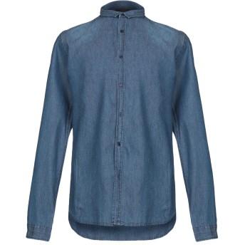 《期間限定 セール開催中》INDIVIDUAL メンズ デニムシャツ ブルー M コットン 100%