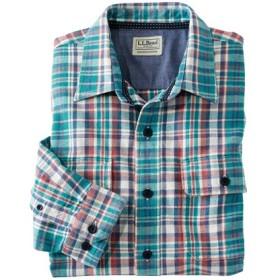 ノースウッズ・ツイル・シャツ、スライトリー・フィット 長袖 プラッド/Northwoods Twill Shirt Long Sleeve Slightly Fitted Plaid