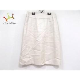 ダーマコレクション DAMAcollection スカート サイズ11 M レディース 美品 アイボリー   スペシャル特価 20191011