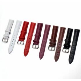 腕時計ベルト 腕時計用ベルト 替えベルト 替えバンド ウォッチベルト フェイクレザー 型押し 男女兼用 24mm 22mm 21