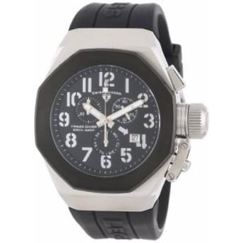 【当店1年保証】スイスレジェンドSwiss Legend Men's 10542-01-BB Trimix Diver Chronograph Black