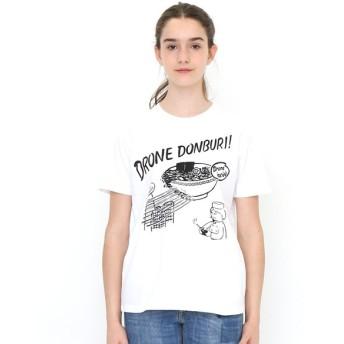 [マルイ] 【ユニセックス】Tシャツ/ドローンドンブリ/グラニフ(graniph)