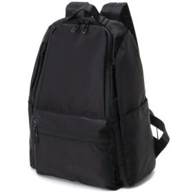 バッグ カバン 鞄 レディース リュック 止水テープ使いナイロンリュック カラー 「ブラック」