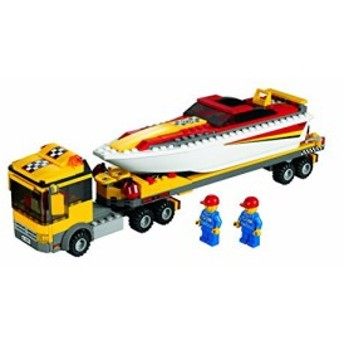 レゴLEGO- City 4643 Power Boat Transporter