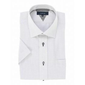 [マルイ] 形態安定レギュラーフィットワイドカラー半袖シャツ/タカキュー(TAKA-Q)