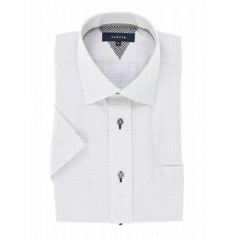 [マルイ]【セール】形態安定レギュラーフィットワイドカラー半袖シャツ/タカキュー(TAKA-Q)