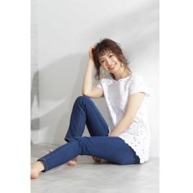 PROPORTION BODY DRESSING / プロポーションボディドレッシング  |and GIRL 7月号掲載|スキニーデニムパンツ