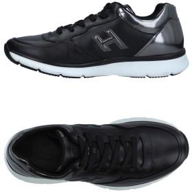 《セール開催中》HOGAN メンズ スニーカー&テニスシューズ(ローカット) ブラック 5.5 革