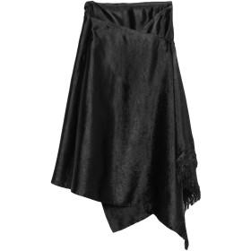 《期間限定 セール開催中》MARNI レディース 7分丈スカート ブラック 40 レーヨン 51% / アクリル 49%