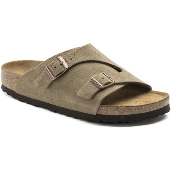 【BIRKENSTOCK】Zürich/チューリッヒ Suede Leather Soft Footbed トープ スウェードレザー ビルケンシュトック
