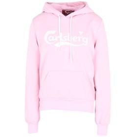 《期間限定 セール開催中》CARLSBERG レディース スウェットシャツ ピンク XS コットン 95% / ポリウレタン 5%