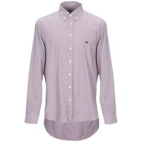 《期間限定 セール開催中》ETRO メンズ シャツ ボルドー 44 コットン 100%