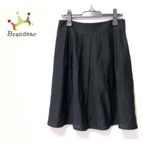 ナラカミーチェ NARACAMICIE スカート サイズ4 XL レディース 美品 黒   スペシャル特価 20190831