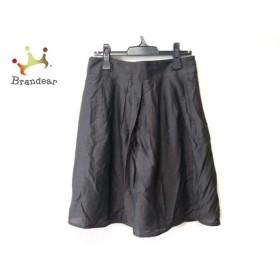 ナラカミーチェ NARACAMICIE スカート サイズ4 XL レディース ダークグレー   スペシャル特価 20190831