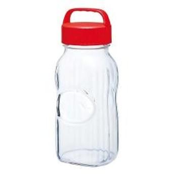 【5%OFFクーポン利用可能】【コード:3MNFGPT】 梅酒びん 保存容器 漬け上手 うめ 2L ガラス製 持ち手付き