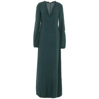 《セール開催中》MASSIMO ALBA レディース ロングワンピース&ドレス エメラルドグリーン XS ウール 85% / レーヨン 15%