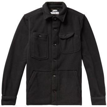 《期間限定セール開催中!》F.S.C. FREEMANS SPORTING CLUB メンズ シャツ ブラック M ポリエステル 100%