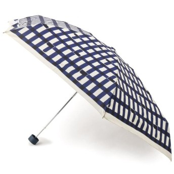 ITS' DEMO(イッツデモ) 晴雨兼用 ブロックチェック柄折り畳み傘