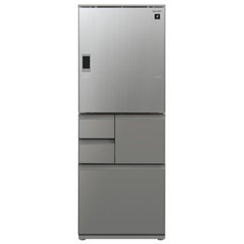 シャープ551L 5ドアノンフロン冷蔵庫プラズマクラスターエレガントシルバーSJWX55ES