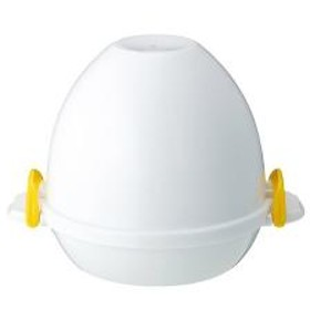 レンジでゆで卵 レンジでらくチン ゆで卵 4個用 【5%OFFクーポン利用可能】【コード:CP34TSW】