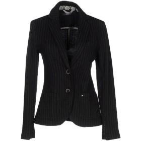 《期間限定 セール開催中》MASON'S レディース テーラードジャケット ブラック 46 バージンウール 80% / コットン 20%